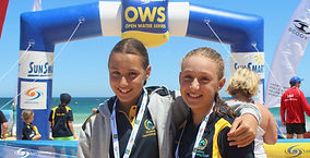 Winners at Bunbury Open Water series 2017
