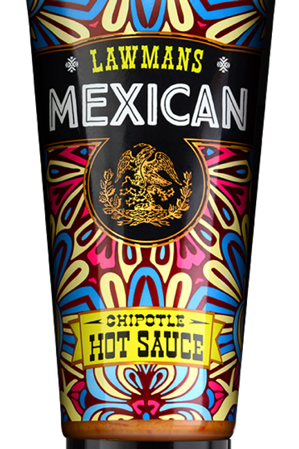 Case of 6 X Lawmans Chipotle Hot Sauce 210g