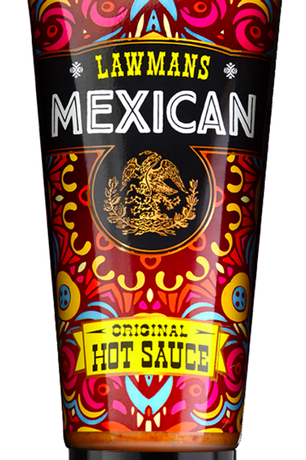 Case of 6 X Lawmans Original Hot Sauce 210g