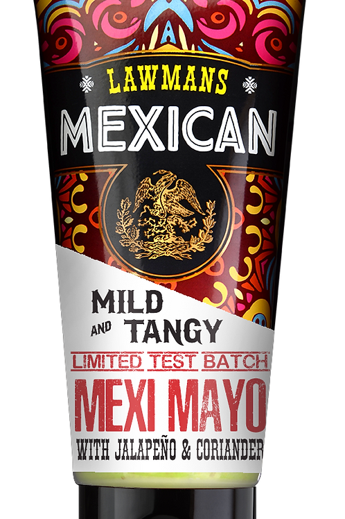 Case of 6 X Lawmans Mexi-Mayo 200g