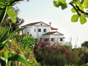Nordansicht der Villa