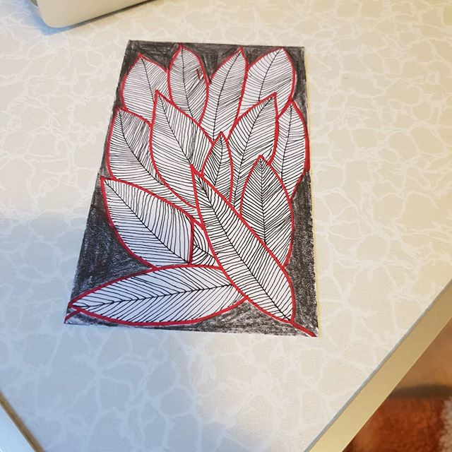 #simplesketch #colourpencil #micron sket
