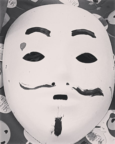 #mask #anonymousmasks #painting #aloneis