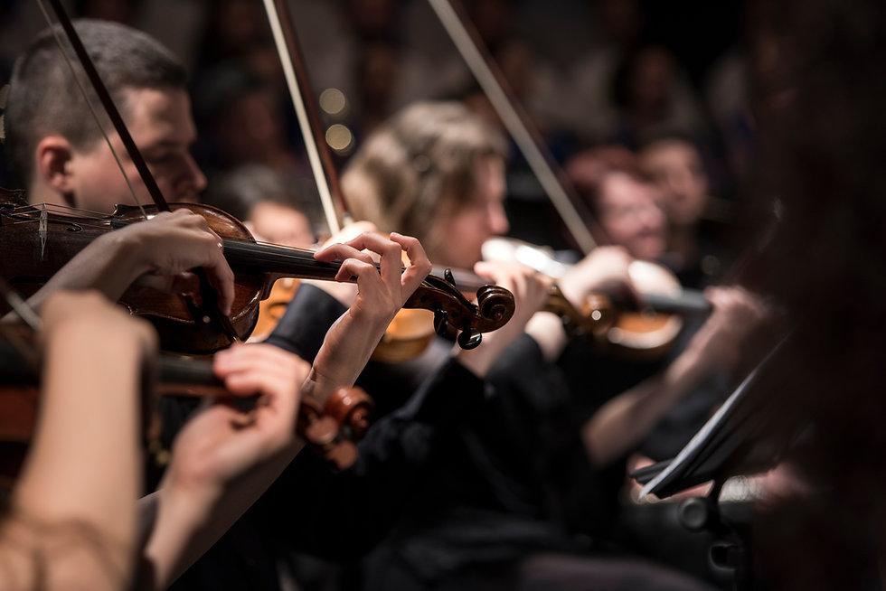 Los jugadores de violín