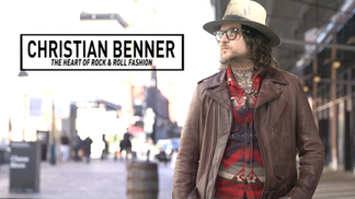 Christian Benner: The heart of rock & roll fashion