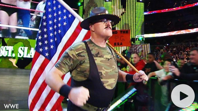 WWE superstar Sgt. Slaughter opens up about receiving anti-American death threats