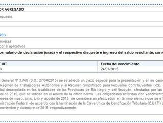 PROBLEMAS Y PRORROGA (?) DEL IVA F 2002