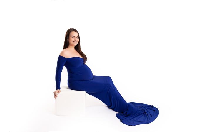 Sirène bleu roi