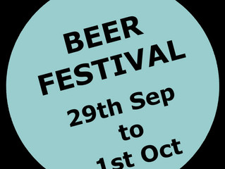 BEER FESTIVAL AT THE SHOULDER OF MUTTON