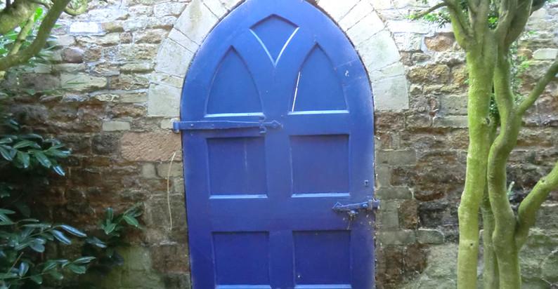 Door to Church Lane