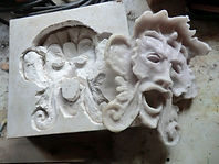 Mould and casting