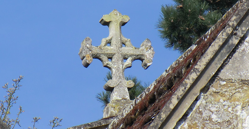 All Saints roof