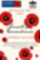 Copy of Remembrance Day Poster Template