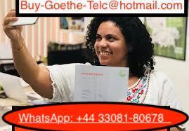 Buy-Goethe-Telc@hotmail.com) Buy Origina Goethe Certificate Without Exams Online In Germany