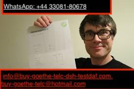 info@buy-goethe-telc-dsh-testdaf.com) Buy Goethe certificate - Goethe certificate without exams online