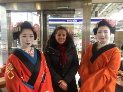 Les geishas et moi