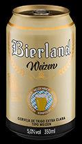 Bierland Weizen lata 350 ml frente.