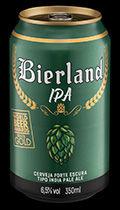 Bierland IPA lata 350 ml frente.