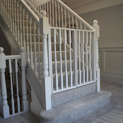 Safety gates designed, made & fitted to