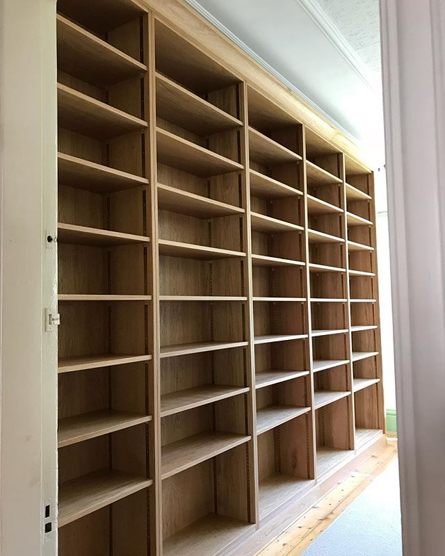 Traditional style bookcase ready to be f