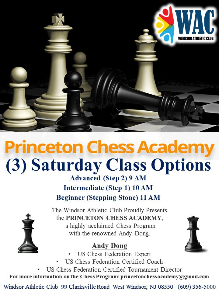 Princeton Chess Academy Flyer Only (Fall