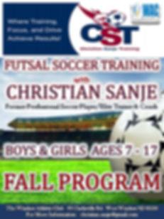 Christian Sanje Futsal Soccer Generic Fa