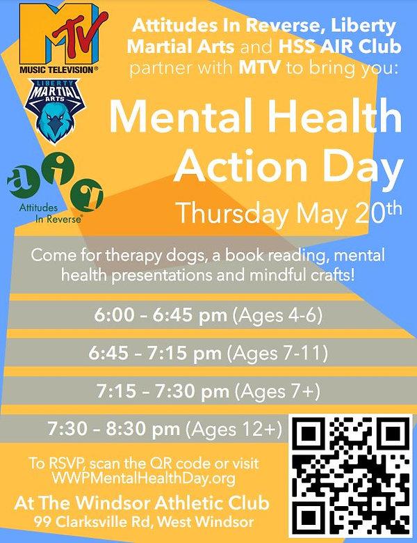Mental Health Action Day at the WAC (May