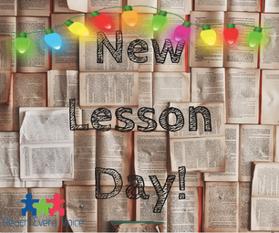 New Lessons for the Holiday season!