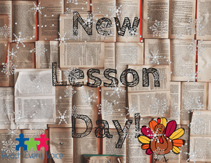 We're grateful for new lessons!