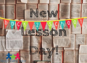 Back to School! New Lessons!