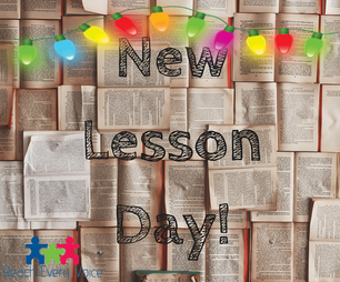 Happy Holidays! New Lessons!