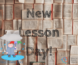 New Lessons!