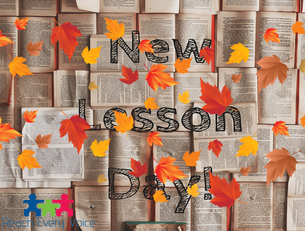 Happy Fall Y'All! New Lessons!