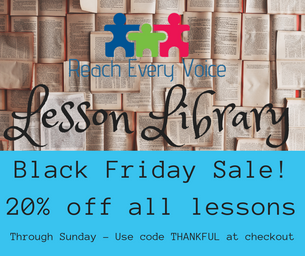 20% All Lessons - Black Friday Special!