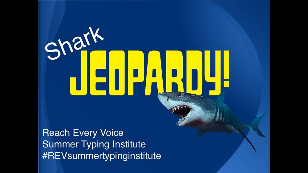 Shark Jeopardy!