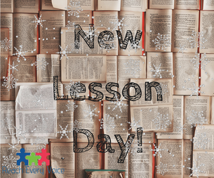 New Year, New Lessons!