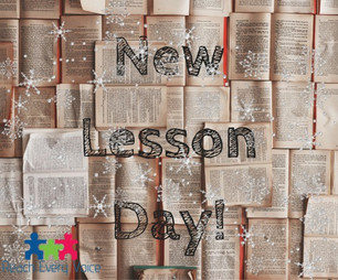 Start 2018 off with New Lessons!