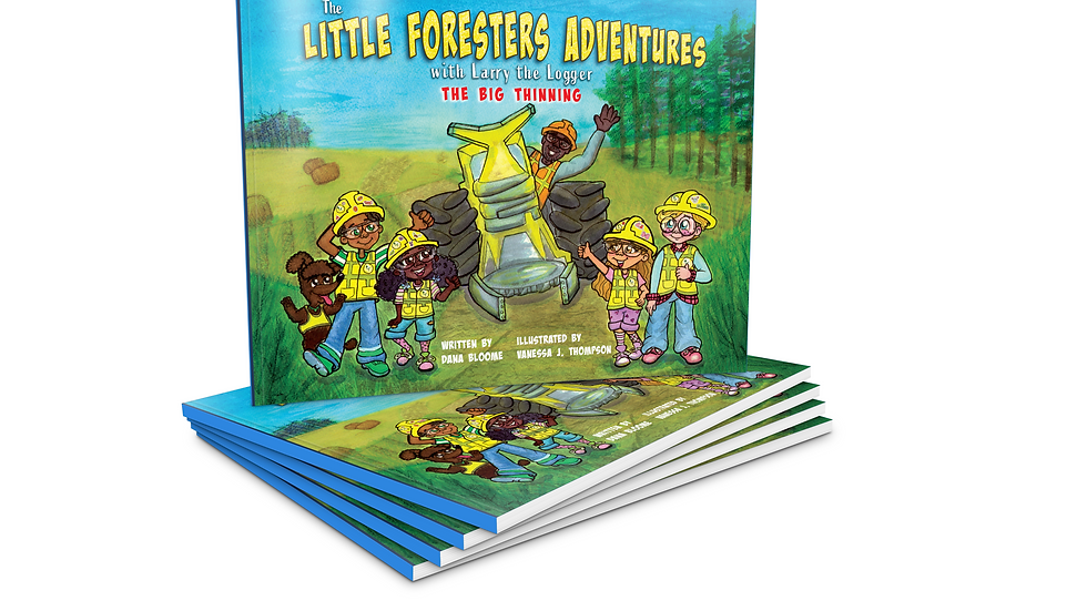 The Little Foresters Adventures with Larry the Logger: The Big Thinning