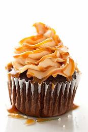 Cupcakes de chocolate y caramelo (1 pza)
