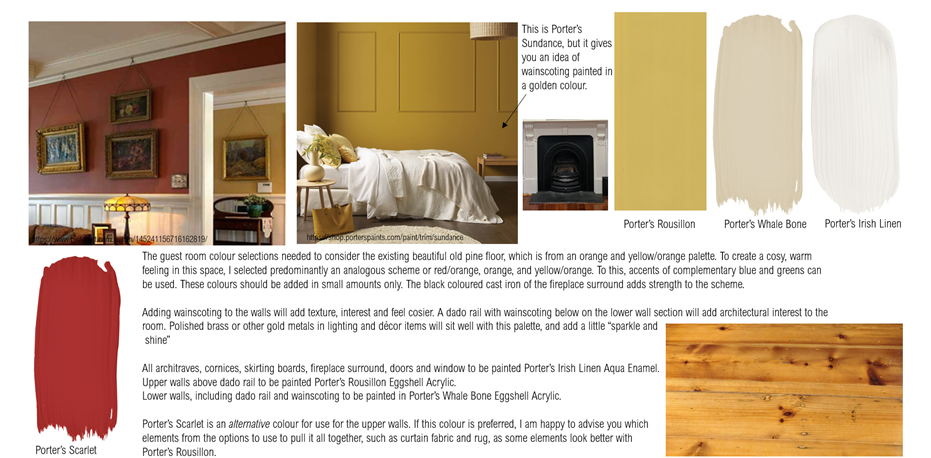 Traditional Colour Scheme Mood Board St Peters