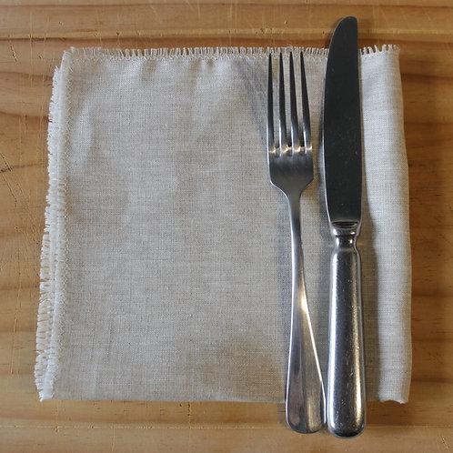 Natural Linen Napkin- 100% French Linen