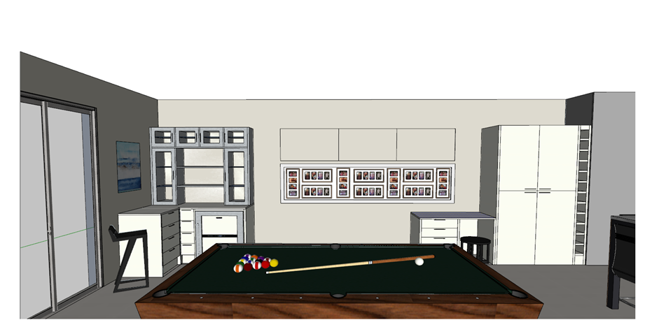 3D Drawing Living Room Hawthorndene