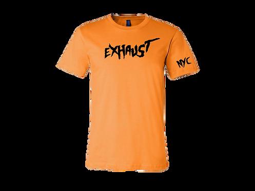 Exhaust Tee (Orange)
