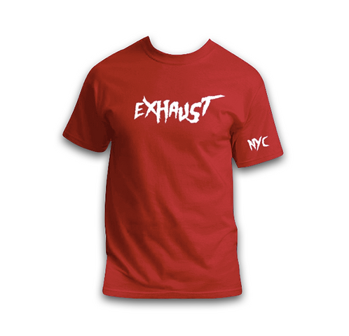 Exhaust Tee (Red)