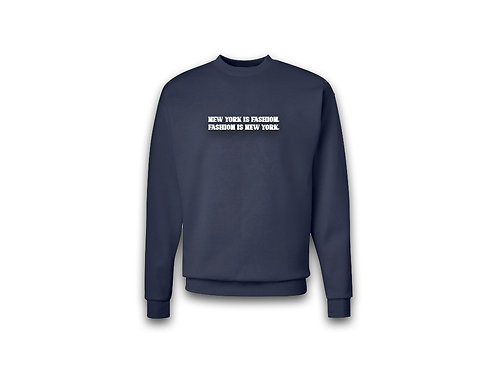"""NYF"" Sweater (Navy)"