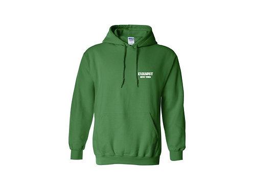 Exhaust Hoodie (Money Green)