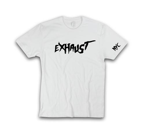 Exhaust Tee (White)
