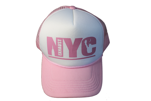 Exhaust Trucker (Pink)