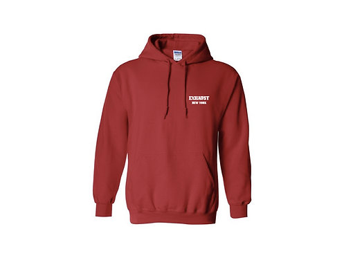 Exhaust Hoodie (Red)