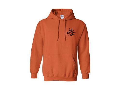 """""""E"""" Hoodie (Orange)"""